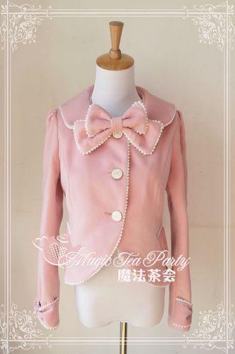 Magic Tea Party Miss Ribbon Sweet Short Coat