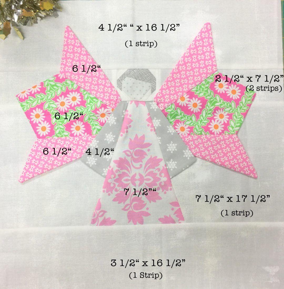 How to make a Dresden Angel block | Sewing | Pinterest | Dresden ...