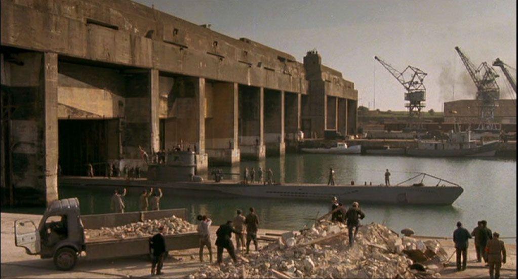 La Rochelle39s Submarine Base In The Movie Das Boot