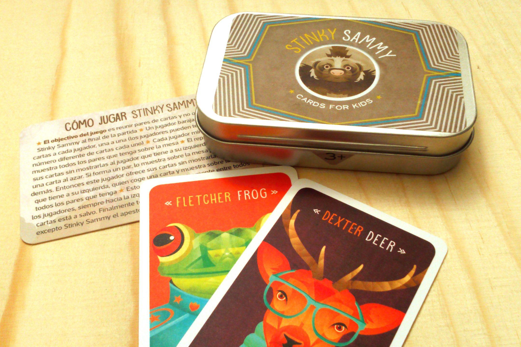 STINKY SAMMY Card game. With unique Illustrations by DistelfinkStudio. |  Cartas, Dexter, Jugar