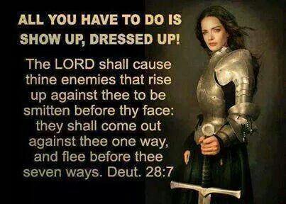 The LORD will cause your enemies who rise against you to be ...