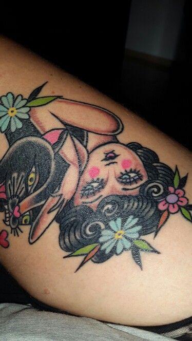 #tattoo #traditional #panter #totem