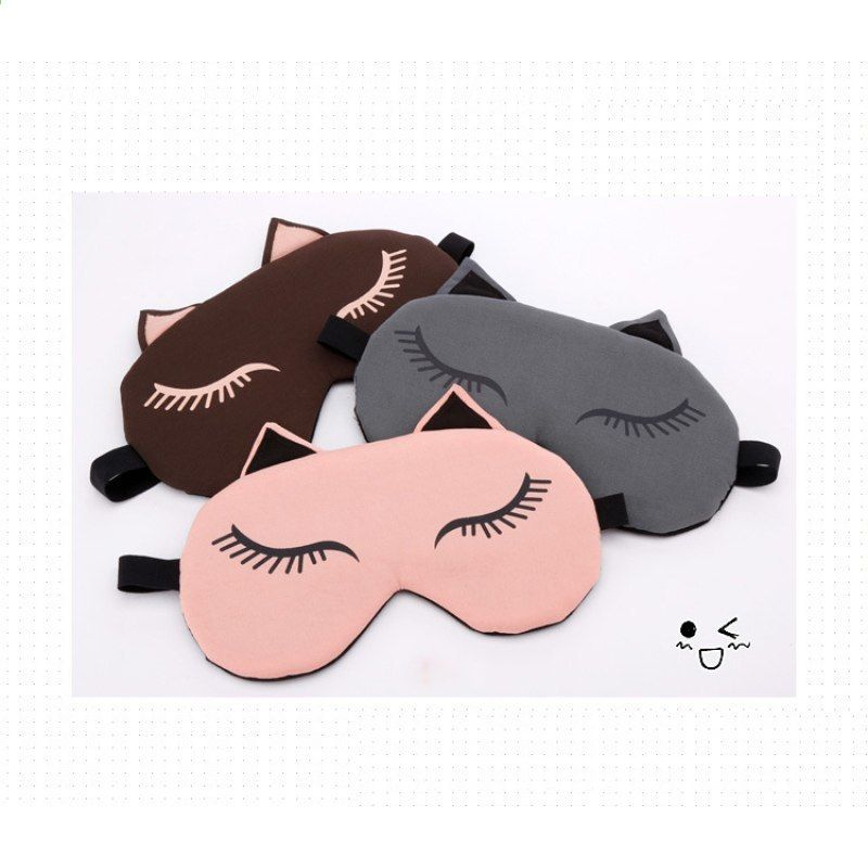 Apparel Accessories Sensible Cute Eyes Mask Cover Plush The Sad 3d Frog Eye Mask Cover Sleeping Rest Travel Sleep Anime Funny Gift Elastic Band