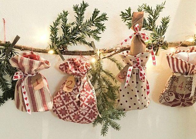 17 calendarios de adviento caseros f ciles y bonitos para ni os navidad con ni os pinterest - Adornos de navidad caseros faciles ...