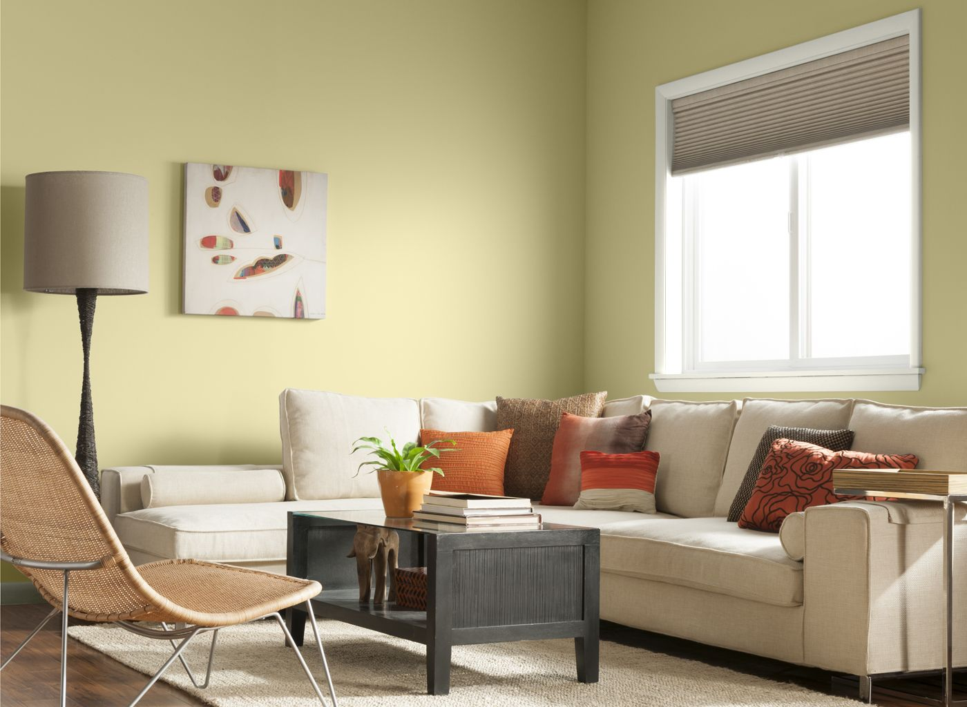 living room in daisy yellow living room wall color on home interior colors living room id=74876