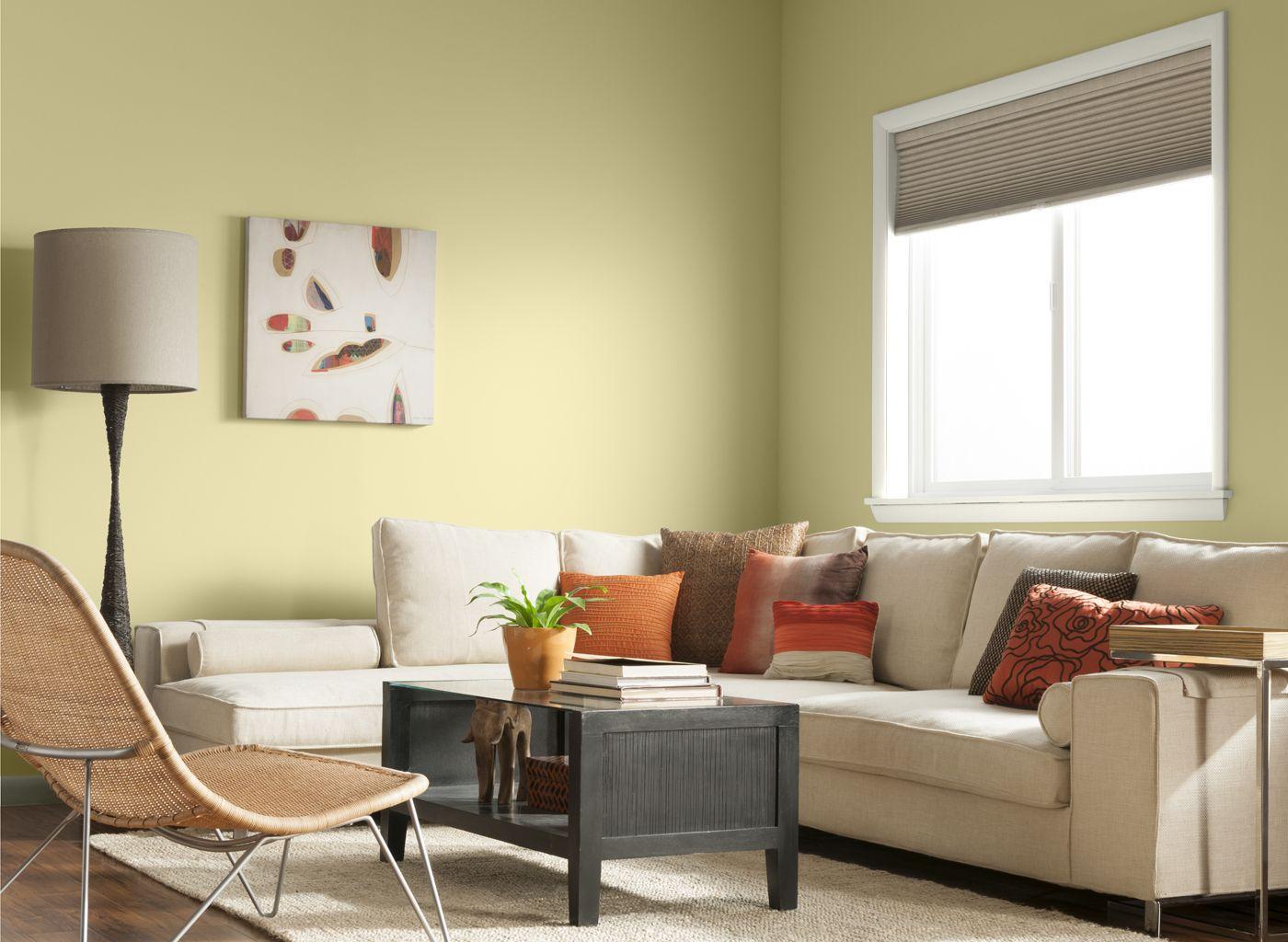 Living Room in Daisy Yellow | LIVINGROOMS | Pinterest | Living rooms ...