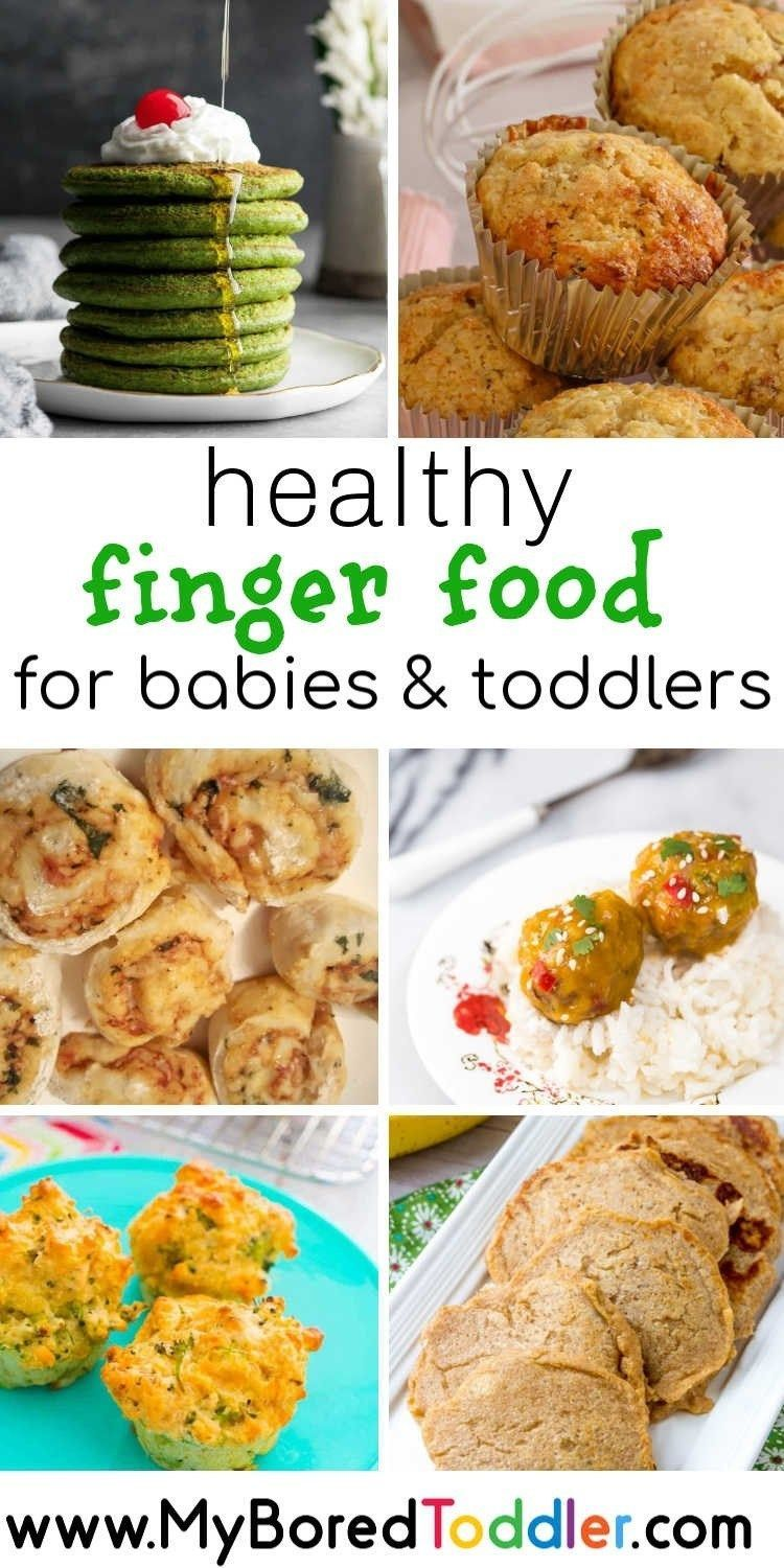 Healthy finger food for toddlers and babies baby led weaning snacks #myboredtoddler #babyledweaning #blw #fingerfoods #babyfood #toddlerfood #babymealideas #toddlermealideas #babyfingerfood