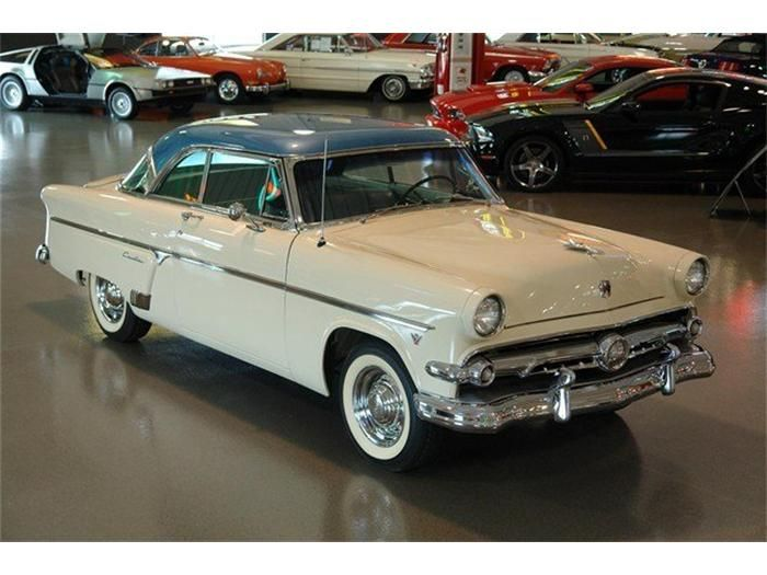 1954 ford crestline crown victoria 1951 to 1959 carz. Black Bedroom Furniture Sets. Home Design Ideas