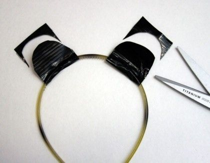 how to make cat ears without headband