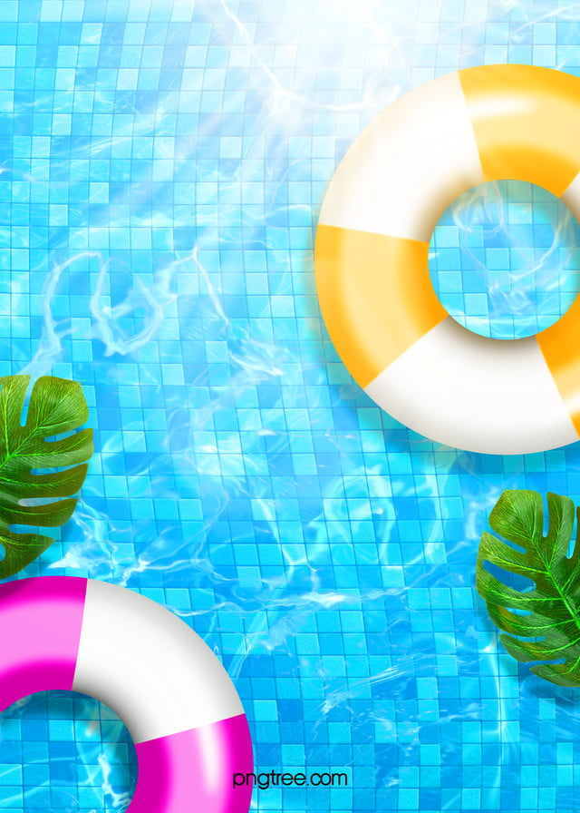 Blue Creative Texture Swimming Pool Background Motion Wallpapers Paint Background Party Font
