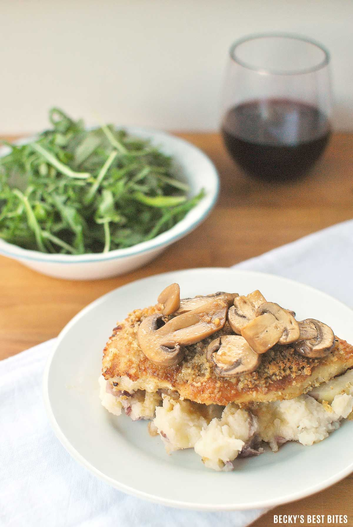 Chicken marsala with parmesan and panko bread crumbs topping chicken marsala with parmesan and panko bread crumbs topping paypal giveaway recipe panko bread crumbs panko bread and chicken marsala forumfinder Images