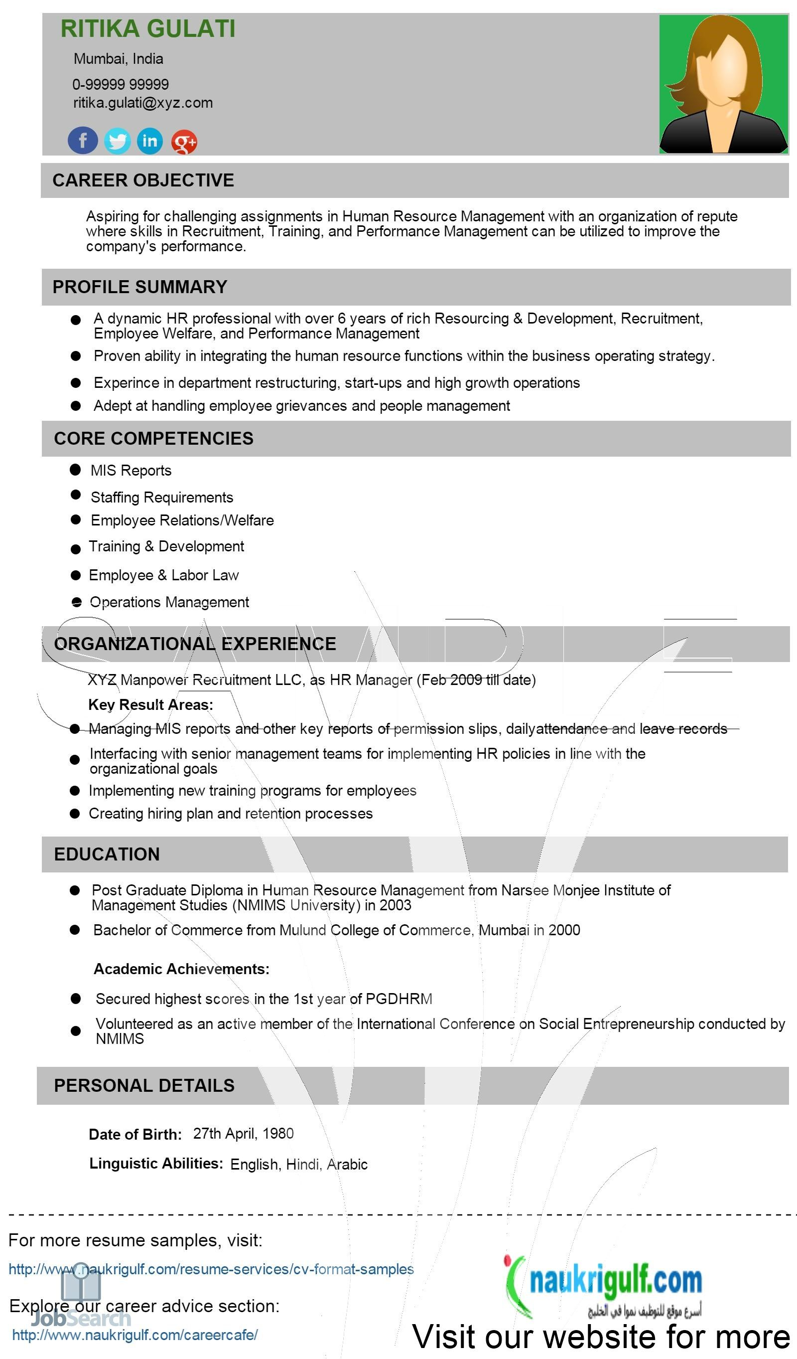 Business Resume Examples Best Human Resources Jobs Human Resource Management Templates Human Resource Management Student