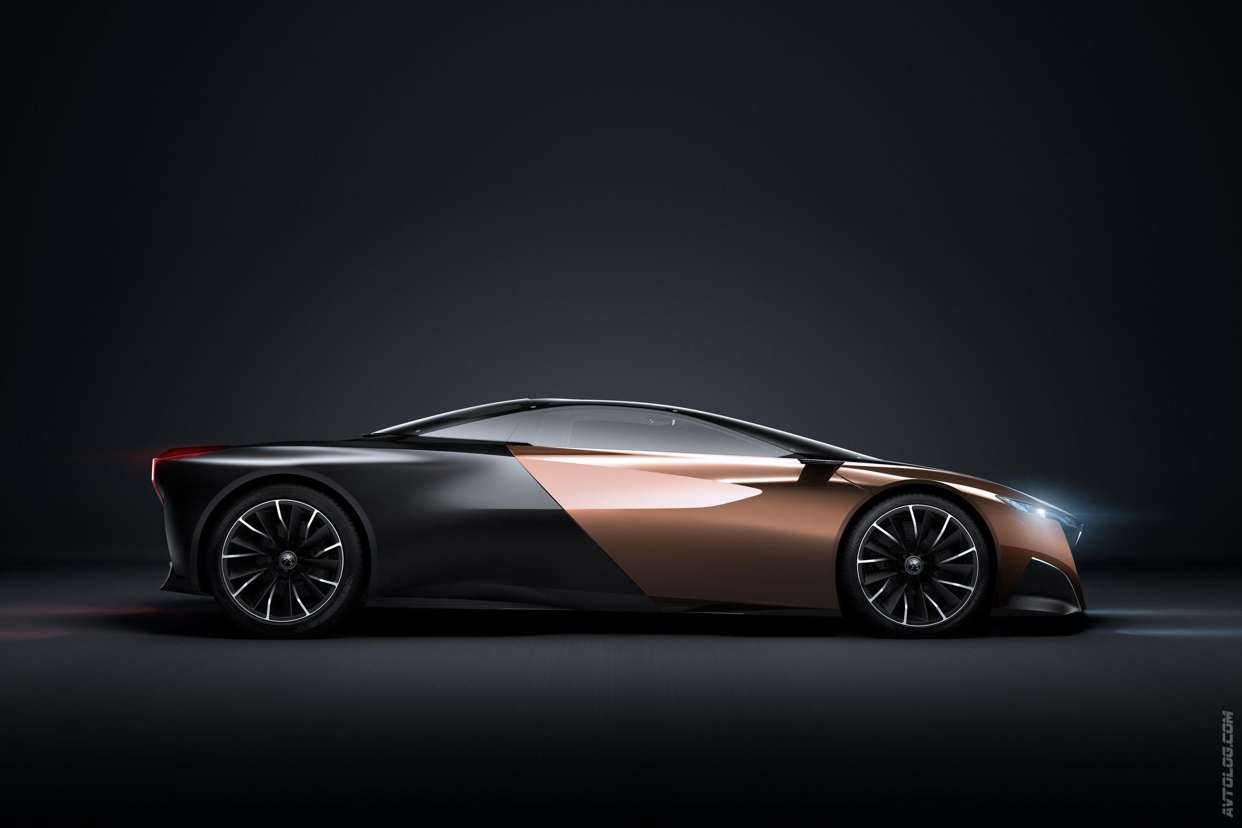 Автоблог U203a Париж 2012 U203a 2012 Peugeot Onyx Concept Photo Gallery