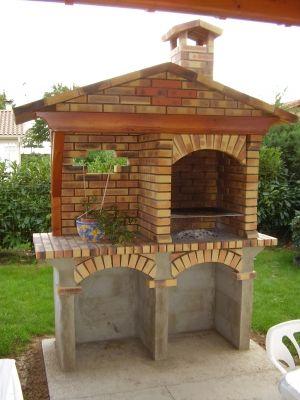 Barbecue briques et b ton cellulaire vous avez construit votre barbecue - Barbecue beton cellulaire exterieur ...
