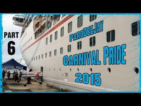 Carnival Pride Cruise Vlog 2015 - Day 6 - Freeport, Bahamas - Port Shopping - ParoDeeJay