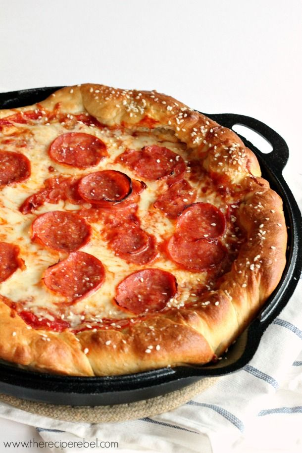 The only thing that could make a classic deep dish pizza better? An extra-thick, extra-soft, extra-salty pretzel crust. Get the recipe from The Recipe Rebel.   - CountryLiving.com