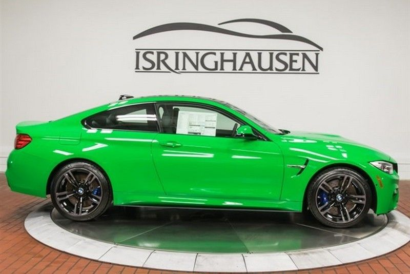 Brand new Signal Green BMW M4 costs 86,042 Bmw, Bmw m4