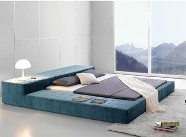 Opaq Contemporary Bed Frame - Modern bedroom furniture ...
