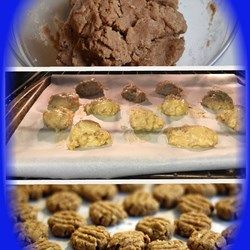 Peanut Butter and Banana Dog Biscuits Recipe and Video