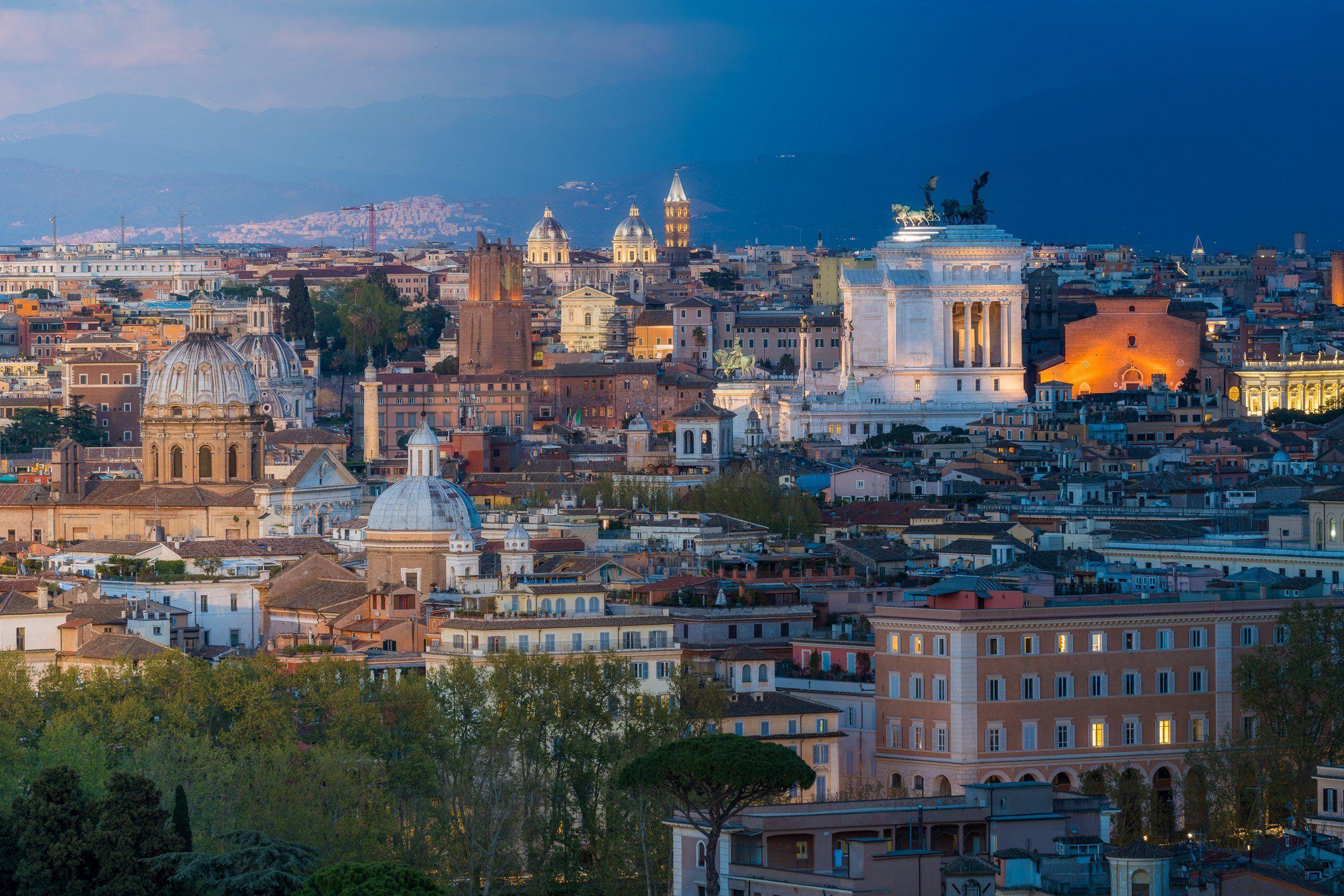 Rome Photography Gianicolo Lazio Landscape Roma Rome