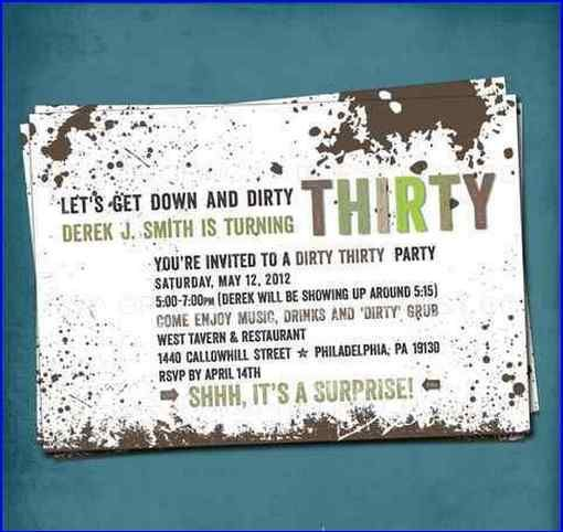 dirty thirty birthday decorations Party Time Pinterest