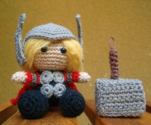 Make your own Pocket Thor   Over the Bifrost  Now you can re-create your own adorable epic battles!