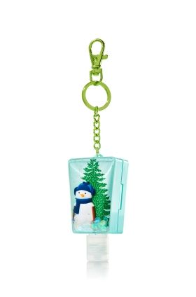 Snow Globe Keychain Pocketbac Key Chain Holder Bath Body Works
