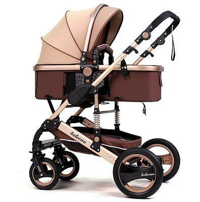 Belecoo Luxury Newborn Baby Foldable Anti-shock Baby Stroller US Stock https://t.co/gPK6X6H3wD https://t.co/HaEymKt84D