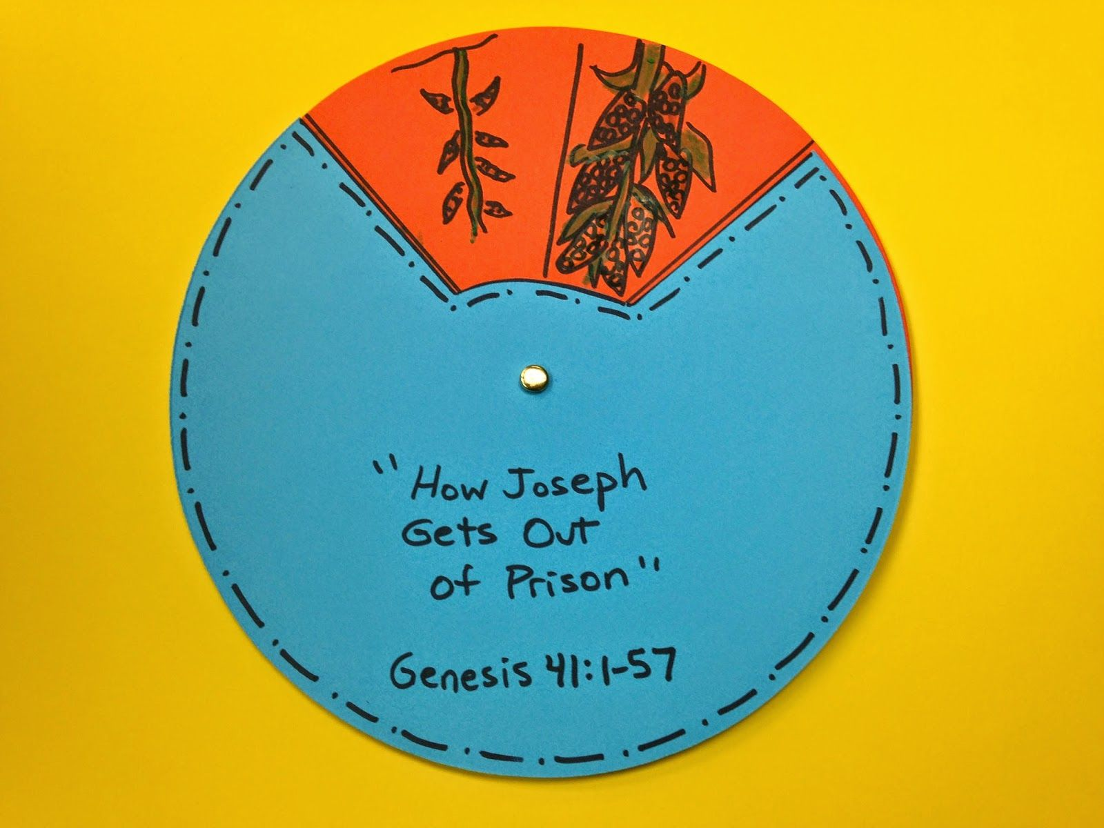 Crafts for sunday school lessons - How Joseph Gets Out Of Prison Craft This Craft Will Help You Prepare Your Sunday School Lesson On Genesis On The Bible Story Of Joseph