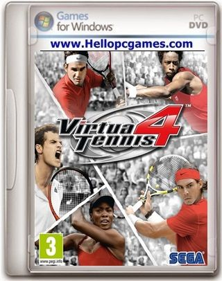 Virtua Tennis 4 Pc Game File Size 2 77 Gb System Requirements Cpu 2 0ghz Core 2due Processor Ram Memory 2 Gb Video Memo Gaming Pc Video Games Pc Free Games