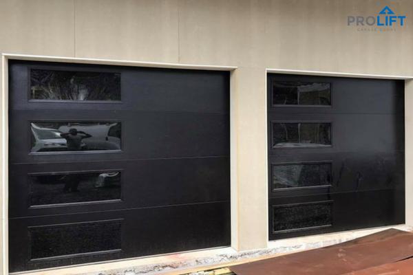 Pro Tip Want A Garage Door With Windows To Look Like A Garage Door Without Windows With Tinted Gl Contemporary Garage Doors Garage Doors Garage Door Styles