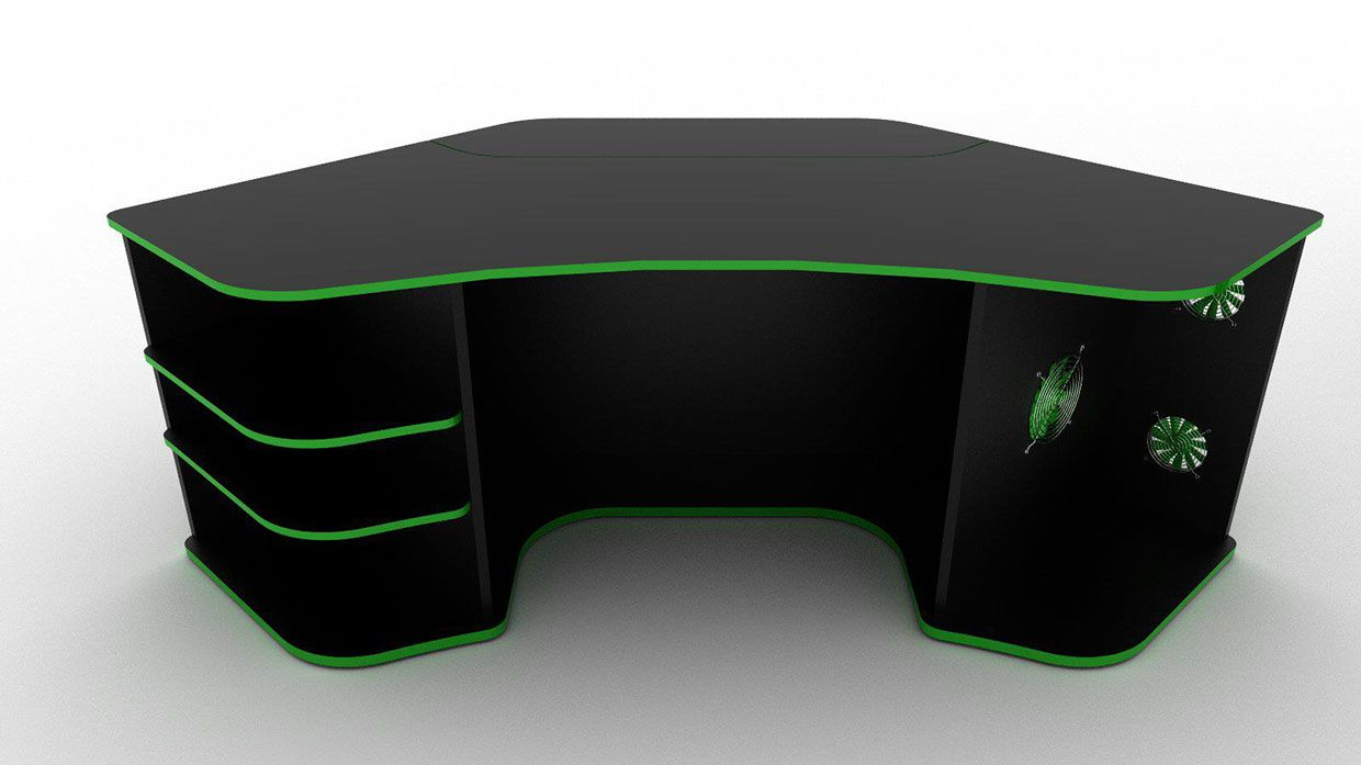 Behance  R2s Gaming Desk by ProSpec Designs  Gaming in