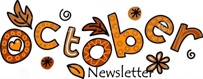 October & November 2015 Newsletter | October clipart, Bullet journal october,  Clip art