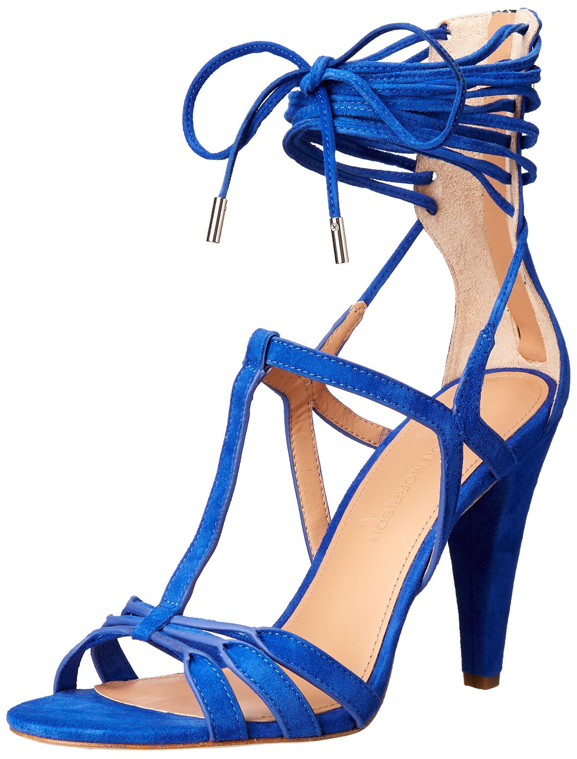 d54501c15d9 Sigerson Morrison Women's Melody Dress Sandal, New Blue, 8.5 M US. T ...