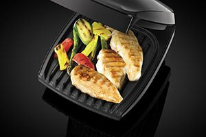 George foreman grill cooking food 1