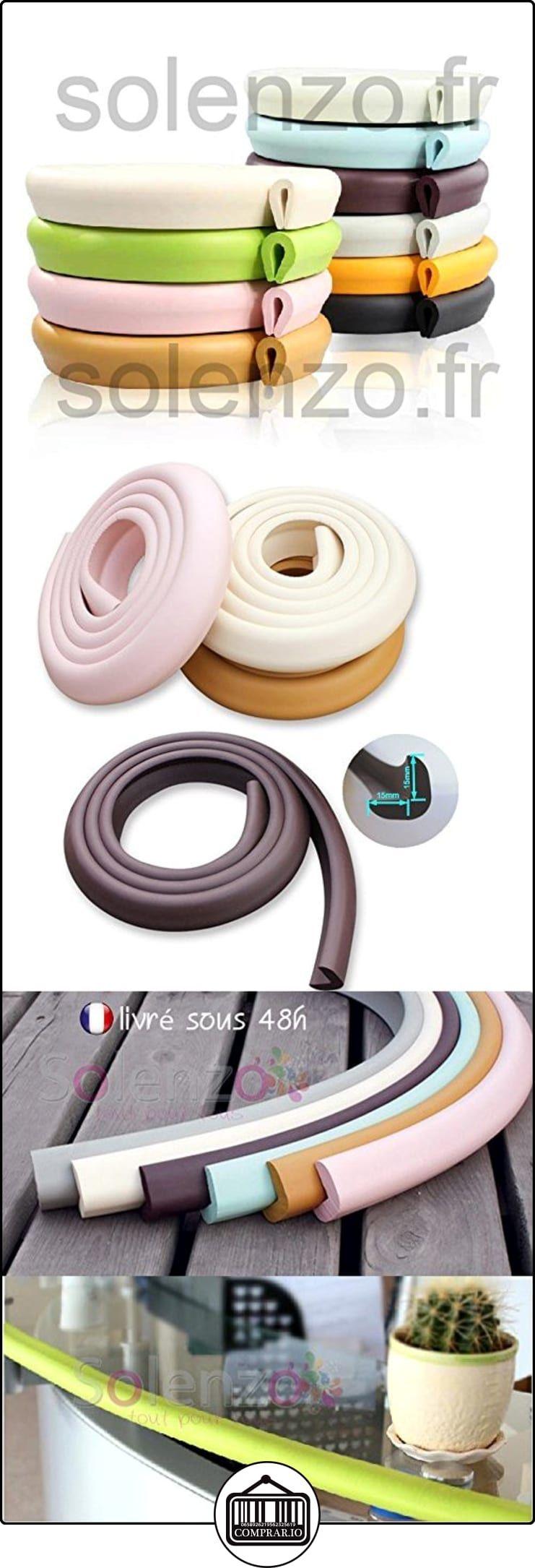 2 M Protecci N Goma Espuma Chocolate Para Borde De Mesa Cu A De  # Muebles De Hule Espuma Para Ninos