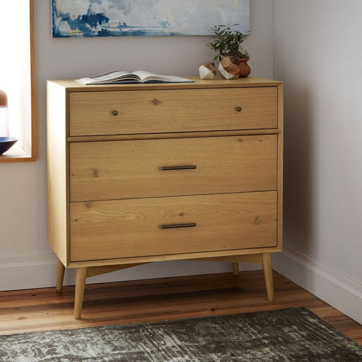 Inspired By American Modern Design The Mid Century 3 Drawer Chest  # Muebles Guzman Nature