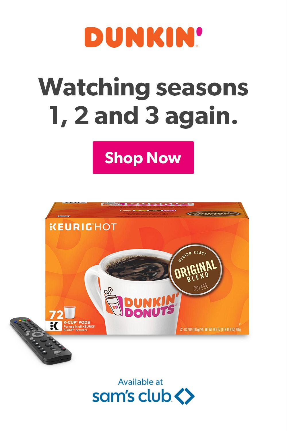 Enjoy the great taste of Dunkin'® at home. in 2020 Easy