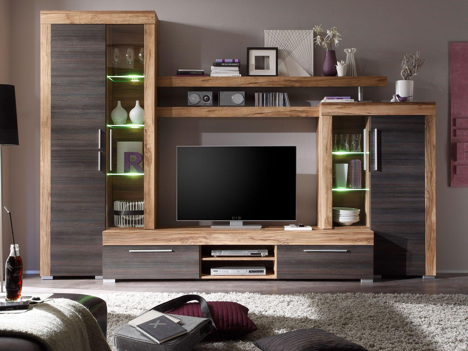 Ebay Angebot Wohnwand Anbauwand Schrankwand Wohnzimmerschrank