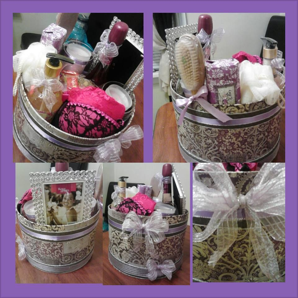 bridal shower basket