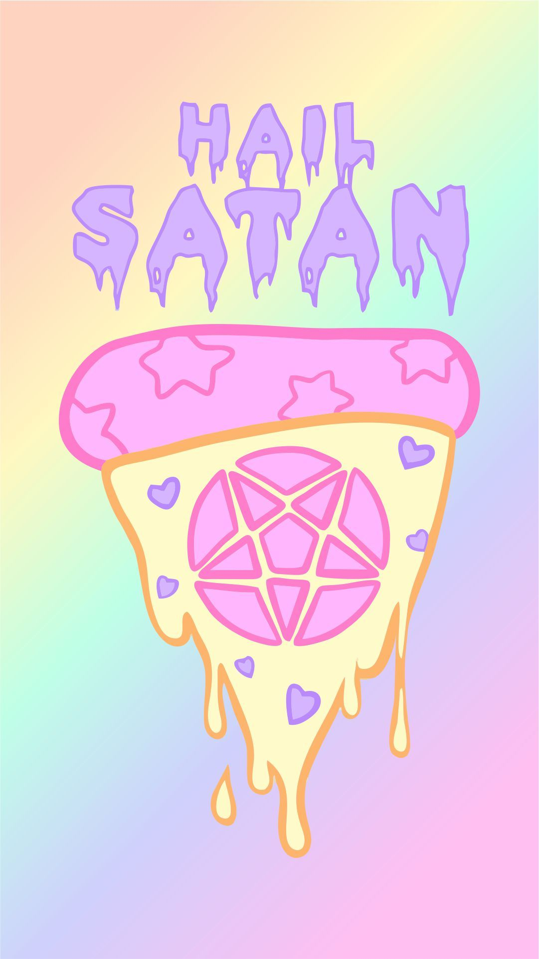 Hail Satan wallpaper