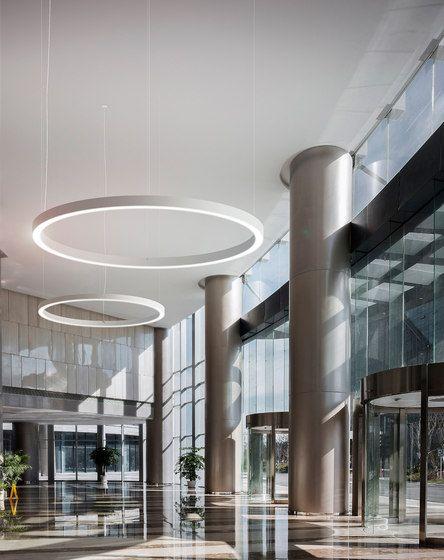 Golden Ring By Panzeri Aluminum Pendant Lamp Pendant Lamp Cool Lighting
