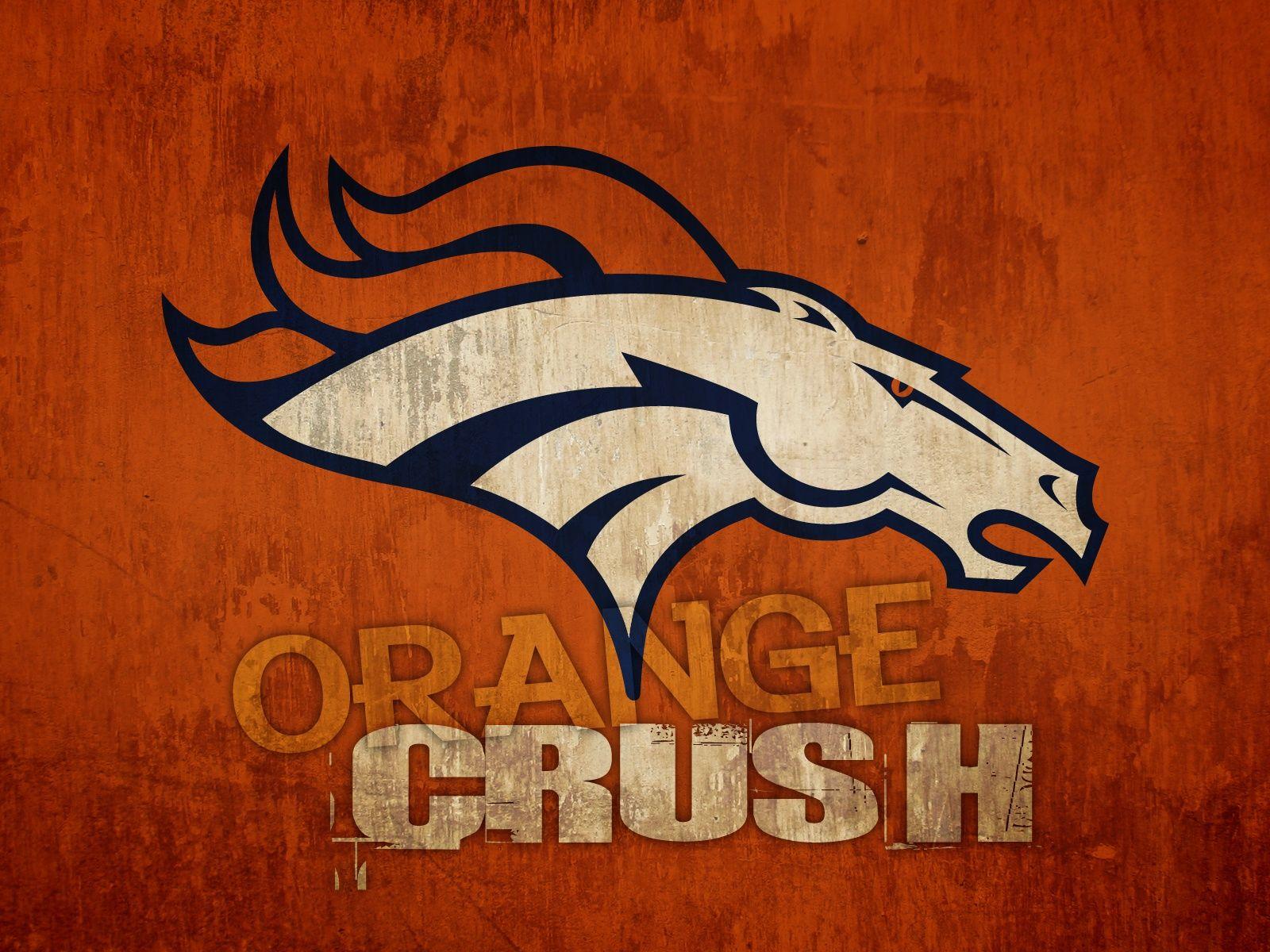 cool denver broncos logos Denver Broncos Orange Crush