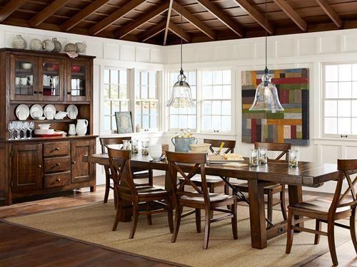Dining Rooms : IDEAS & INSPIRATIONS: Pottery Barn Dinning