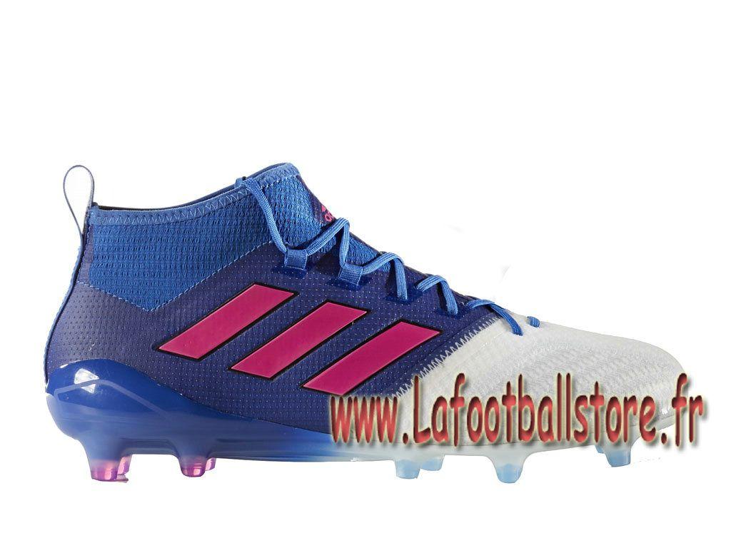 best sneakers 6542b 537e4 Adidas Football Homme Chaussure ACE 17.1 Primeknit terrain souple BB4313  BlueRunning White