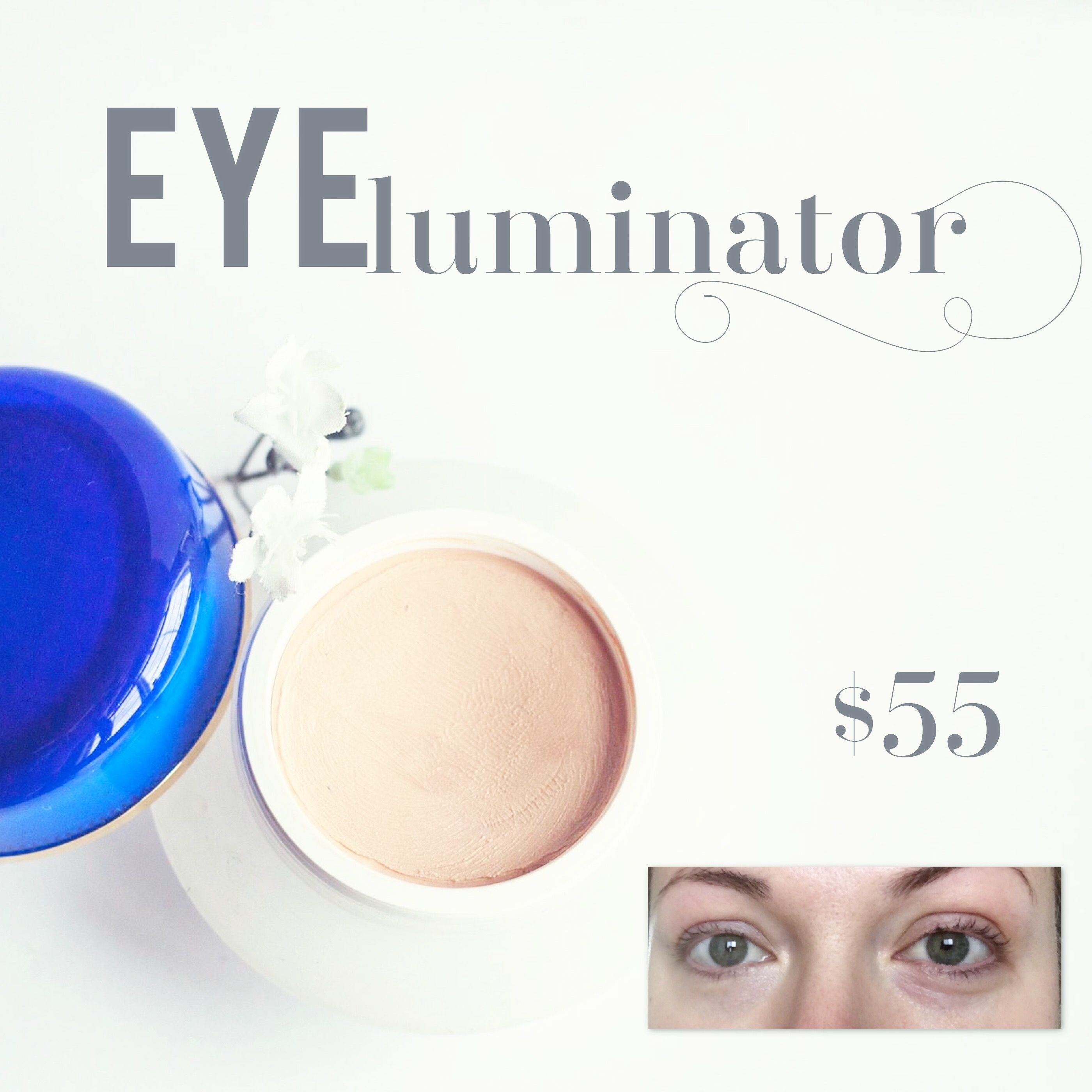 Eye Miracle Black Circle Bag Remover Applied To Only The Left