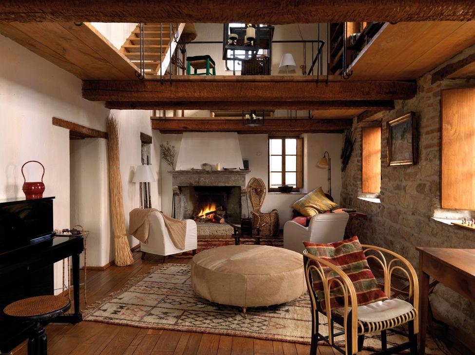 Casas italianas estilo rustico bella casa rustica en la - Casas de estilo italiano ...