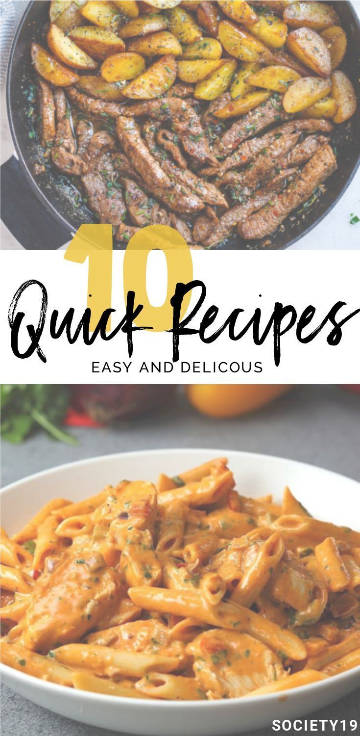 10 Quick Recipes That Are Easy Yet Delicious images