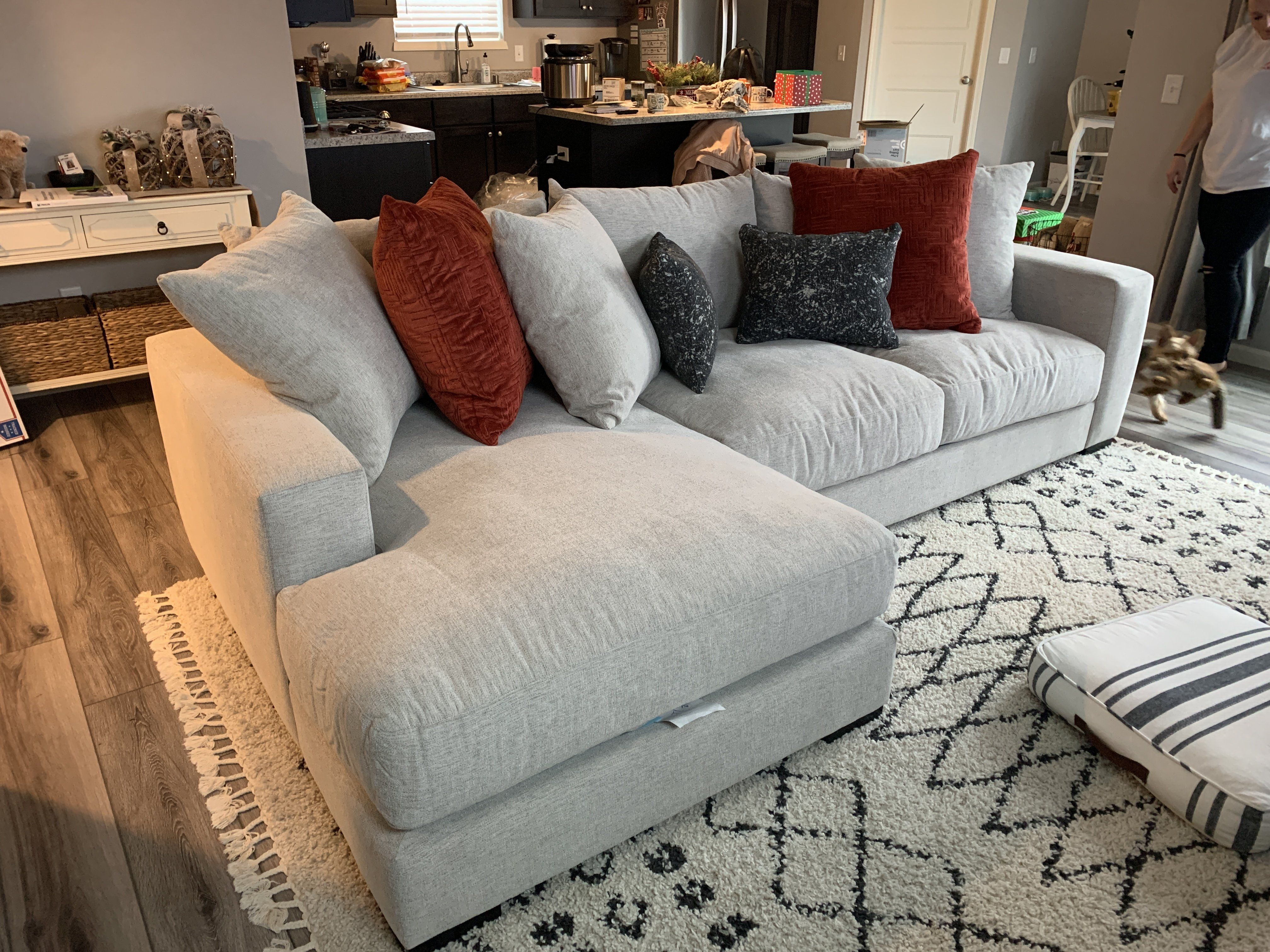 Lombardy 2 Pc Chaise Sofa Chaise Sofa Rustic Living Room Furniture Sofa