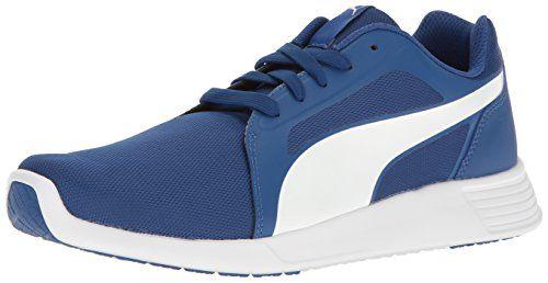 PUMA Mens ST Evo CrossTrainer Shoe True BluePuma White 14 M US *** Check